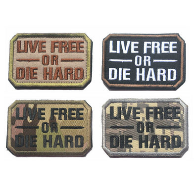 Live Free or Die Hard Patch - Outdoor King