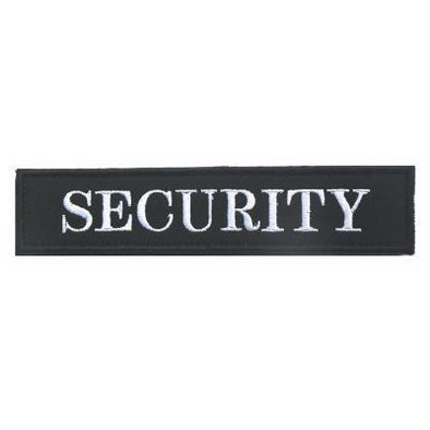 Security Embroidery Patch - Outdoor King