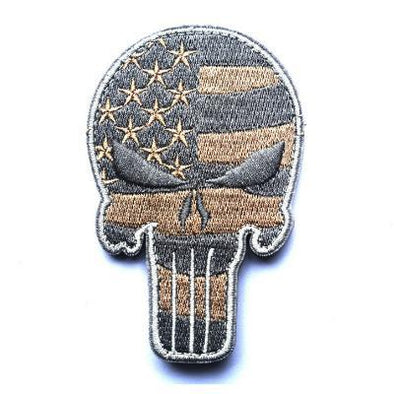 U.S. Flag Punisher Skull Patch - Outdoor King