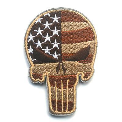 U.S. Flag Punisher Skull Patch