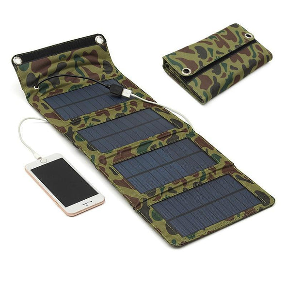 Folding Solar Panel Charger - Outdoor King
