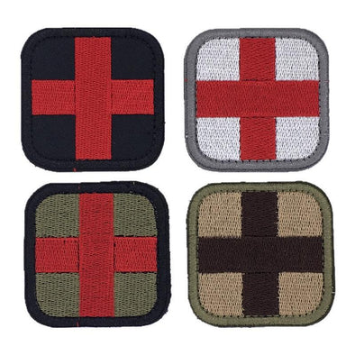 Red Cross Medic Embroidery Patch - Outdoor King