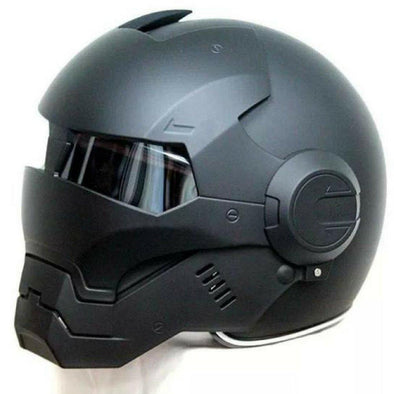 Robotrix Strike Helmet (Matte Black) - Outdoor King