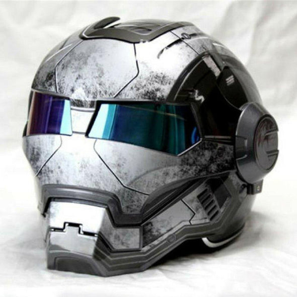 Robotrix Strike Helmet (Tactical Grey) - Outdoor King