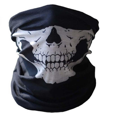 Skull Half Mask - Outdoor King