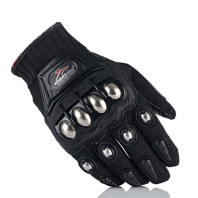 Steel Knuckle Guard Gloves - Outdoor King
