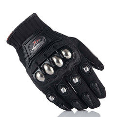 Steel Knuckle Guard Gloves
