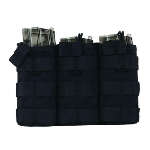 Triple AR Open Top Magazine Pouch-Outdoor King