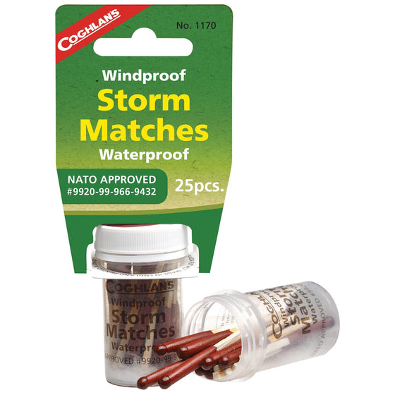 Wind/Water-Proof Storm Matches-Outdoor King