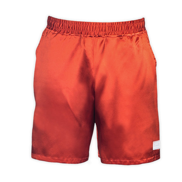 Silk Orange Resort and Sport Shorts