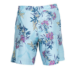 Blue Floral Resort and Sport Shorts