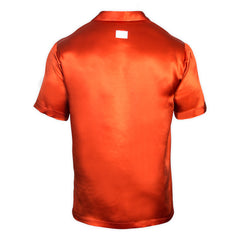 Silk Orange Resort and Sport Shirt