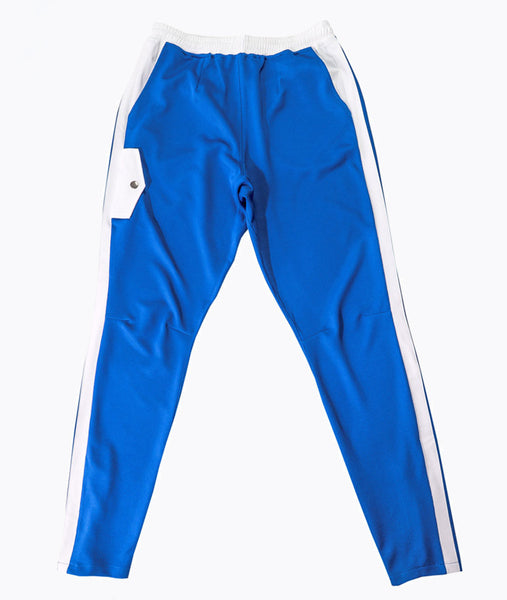 Blue Mesh Travel Pants