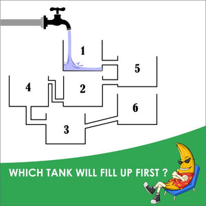Which Tank Will Fill Up First?