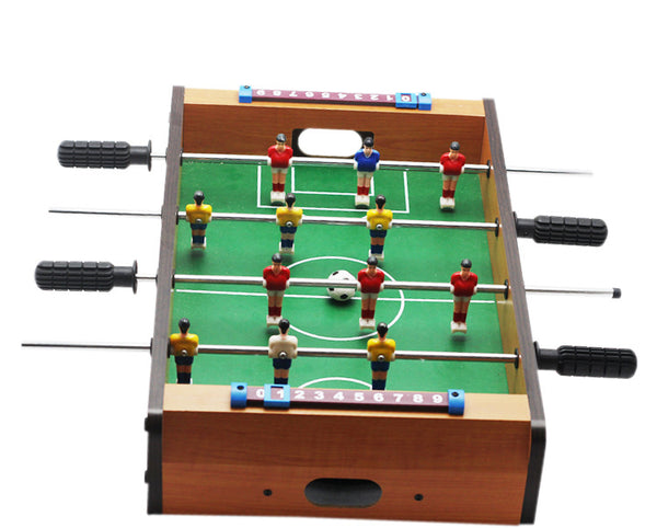 ... 14 Inch Soccer Table Football Board Game Kids Toy Family Party Games Wood Toy Portable Travel ...  sc 1 st  Thekingwarehouse & 14 Inch Soccer Table Football Board Game Kids Toy Family Party Games ...