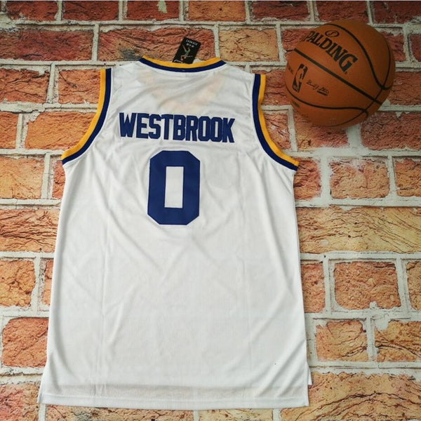 buy popular 8e568 595f4 cheap russell westbrook ucla bruins home retro jersey 9c005 ...