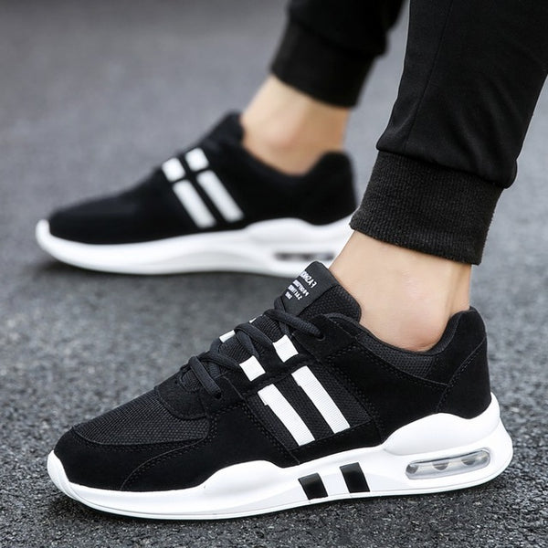 a24969c42abf 2018 New Arrival Men Sneakers Air Cushion Running Shoes for Male Breathable  Canvas Sport Shoes Men ...