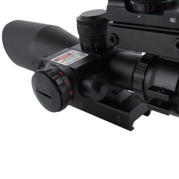 2018Hunting Scopes 20mm Tactical Optics Red Dot Sight Rail Sniper
