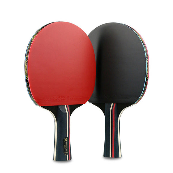 ... 3 Star Table Tennis Rackets Set Ping Pong With Bag Wood Blade Double Face Pimples- ...  sc 1 st  Thekingwarehouse & 3 Star Table Tennis Rackets Set Ping Pong With Bag Wood Blade Double ...