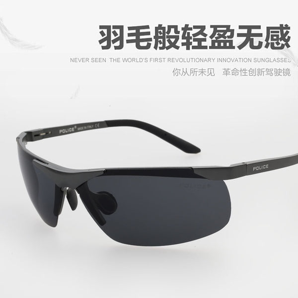 c3ec5528f3 2017 POLICE New POLICE Polarized Sunglasses for Men and Women Aluminum  Magnesium Glasses Outdoor Sports CS