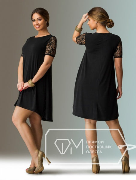 Lil Black Dress For Plus Size Erkalnathandedecker