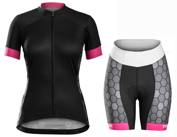 8a991bf89 Breathable Quick Dry Women Cycling Jersey MTB Bike Bicycle Clothes Ropa  Ciclismo Tight Riding Wear Cycling ...