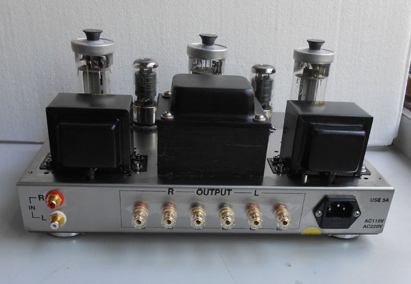 Class A Single-ended 300B Tube Amplifier HiFi 5Z9P + 6J8P + FU50 Vacuum  Tube Amplifier 12WX2 Stainless Steel Chassis 2017 New