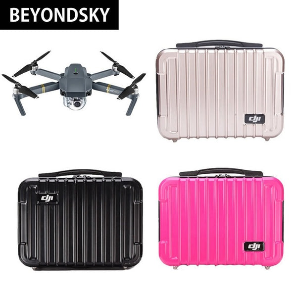 DJI Mavic Pro Bags Portable Drone Suitcase Hard Shell Case Storage Box High  Quality Standard Waterproof ...