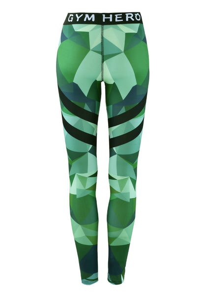 50e18c626289c8 ... Fitness leggings Women Workout gym Hero Print Yoga Pants stripe  camouflage sports Leggings Fitness Stretch Trouser ...