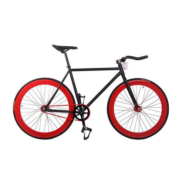 ... Fixie Bike Bicycle DIY 700C Retro Steel 52cm 48cm Frame Fixed Gear Bike Vintage Steel Frame ...