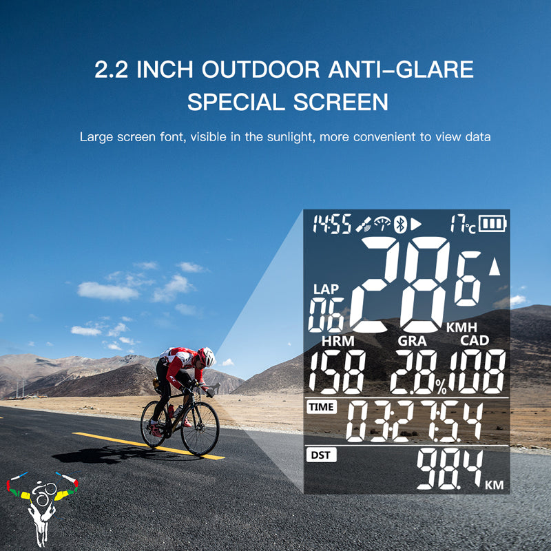 Waterproof GPS Wireless Speedometer Monitor IGPSPORT Bicycle Computer IGS50 Ant