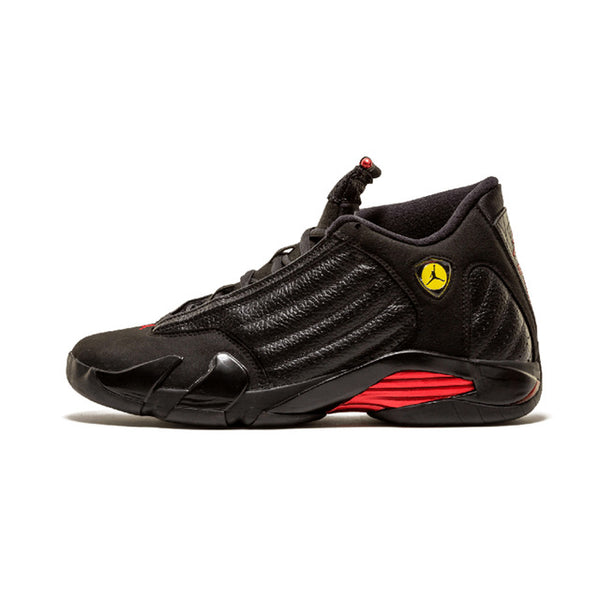 best service 10c35 ef40a Jordan Retro 14 Men Basketball shoes Black Grey Black Toe Thunder Wolf Grey  Athletic Outdoor Sport Sneakers 41-46