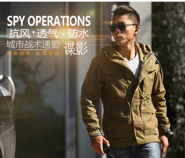 08183df38b5 ... M65 UK US Outdoors Men s Winter Army Military Tactical Clothes Outdoor  Windbreaker Thermal Flight Pilot ...