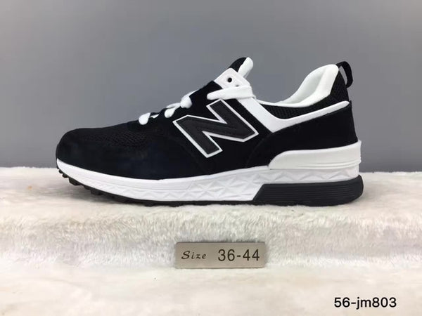 san francisco e1ba0 4751c NEW BALANCE New Arrival 2018 NB 574 V2 Limited Edition Men And Women Shoes  Top Genuine Leather Sneakers 36-44