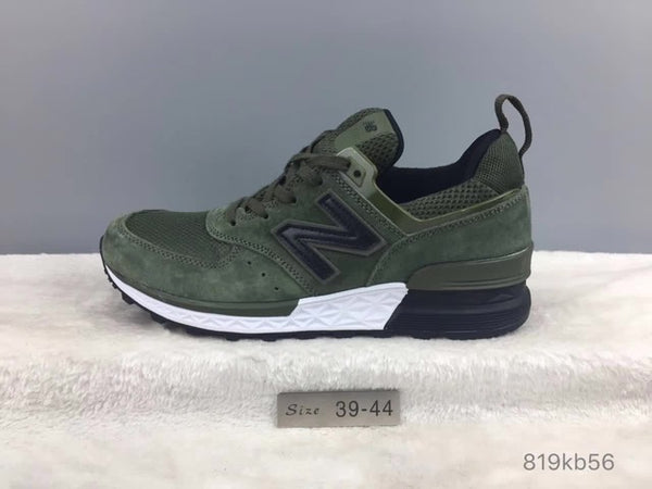 san francisco 0f357 a3af3 NEW BALANCE New Arrival 2018 NB 574 V2 Limited Edition Men And Women Shoes  Top Genuine Leather Sneakers 36-44