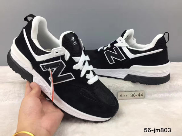 san francisco 1d652 1b4bc NEW BALANCE New Arrival 2018 NB 574 V2 Limited Edition Men And Women Shoes  Top Genuine Leather Sneakers 36-44