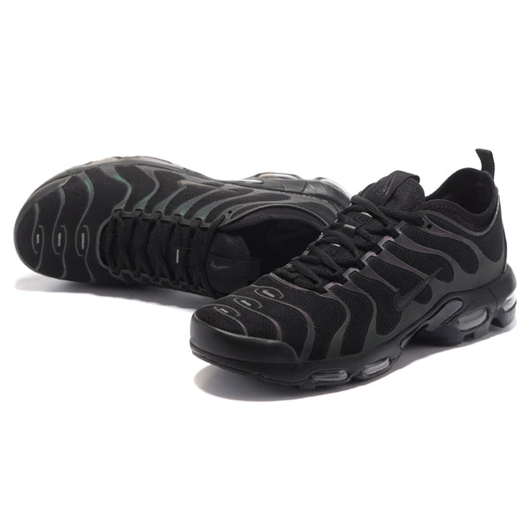 new product 696c8 0b60e NIKE AIR MAX PLUS TN ULTRA Men's Running Shoes, Black, Breathable Non-slip  Wear-resistant Shock-absorbing 898015 002