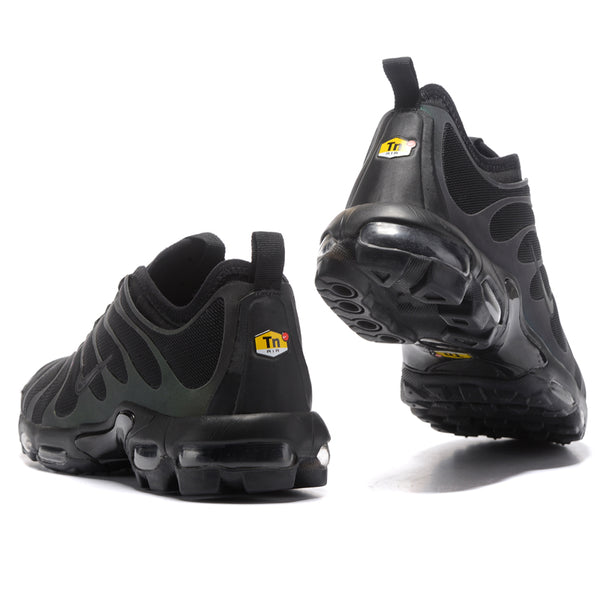 35e3224650 NIKE AIR MAX PLUS TN ULTRA Men's Running Shoes, Black, Breathable Non-slip  Wear-resistant Shock-absorbing 898015 002