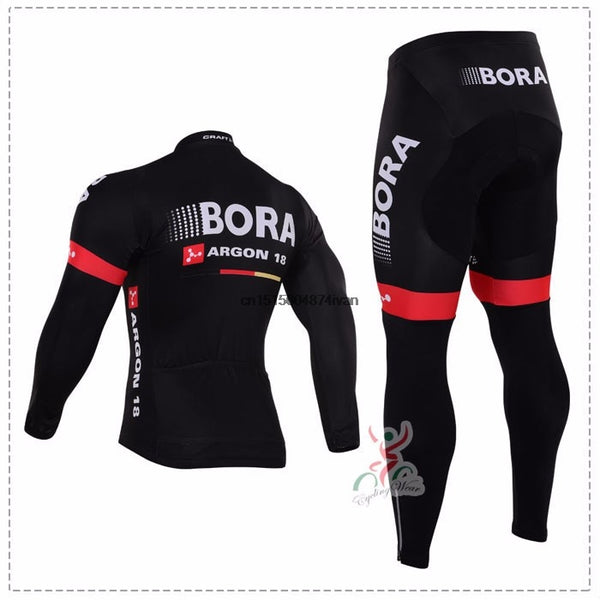 aa1c25088 ... New Winter Fleece Thermal Cycling Team Bora Cycling Jersey Wear  Clothing Maillot Ropa Ciclismo Mtb Bike ...