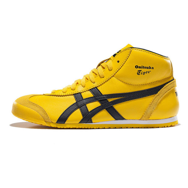 best service 0864f 24c16 ONITSUKA TIGER MEXICO 66 Mid Runner Classics Outdoor Shoes Men Warm  Sneakers Durable Sports Shoes