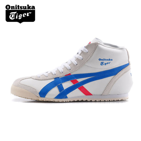 best service 762fa b4b91 ONITSUKA TIGER MEXICO 66 Mid Runner Classics Outdoor Shoes Men Warm  Sneakers Durable Sports Shoes