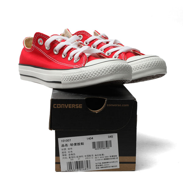 ... Original Converse all star canvas shoes women man unisex sneakers low  classic women Skateboarding Shoes red ... 90162ff80