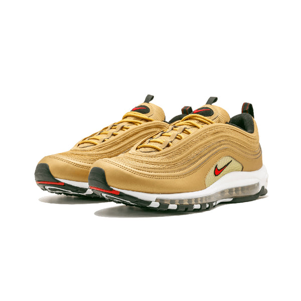 b28116343ab ... Original New Arrival Official NIKE AIR MAX 97 Metallic Gold Breathable  Men s Running Shoes Sports Sneakers ...