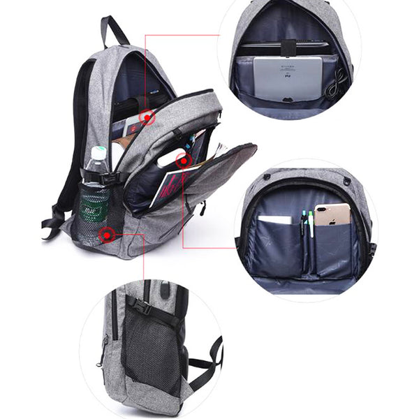 ... Outdoor Men s Sports Gym Bags Basketball Backpack School Bags For  Teenager Boys Soccer Ball Pack Laptop ...