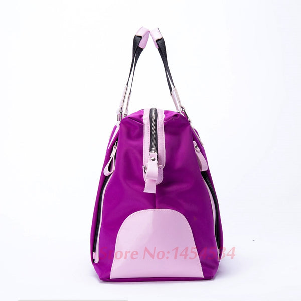 0e8d39644f70 ... Polo Bag Lady Clothing with Shoe Bag Women Shoulder  Hand Carry  Messenger  Large Capacity ...