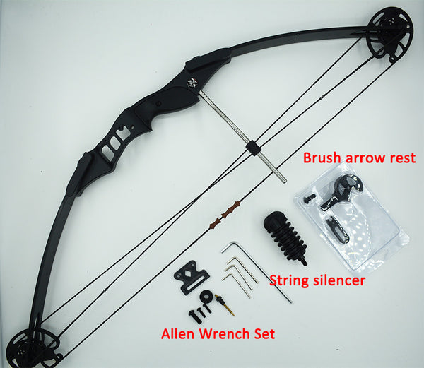 Professional Archery Compound Bow Hunting 30-45 lbs Draw Weight Powerful  Compound Bow Outdoor Shooting Fishing Archery bow