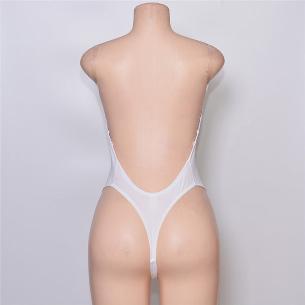 0868ba665c8 ... Sexy Backless Deep plunging Evening dress Party Dress Shaper Clear  Strap Plunge Thong Body Shapers Women s ...