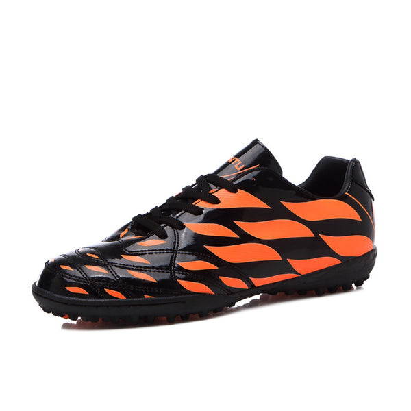 286a4c3cf Sufei Men Football Boots TF indoor Kids Futsal Soccer Shoes Turf Cheap Sock Cleats  Sport Training ...
