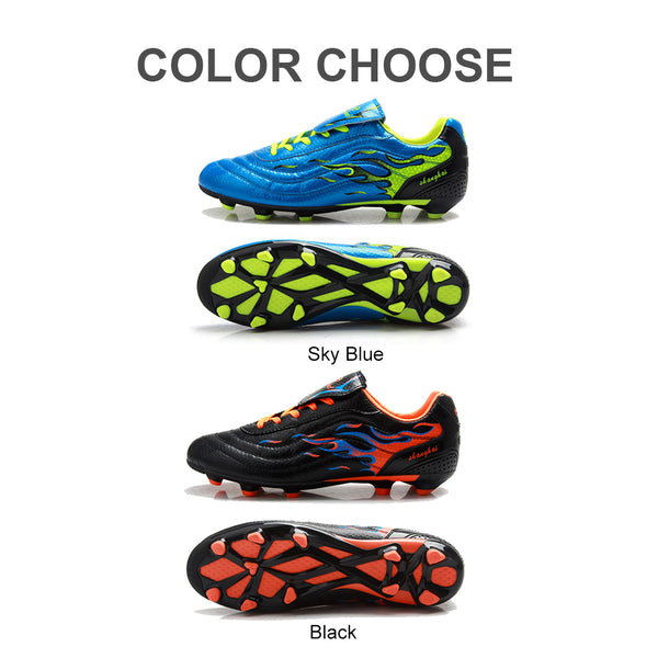 799174b3e27 ... TIEBAO Professional Soccer Shoes Adults Outdoor Sports FG   HG Soles  Sneakers Men Teenagers Athletic Training ...