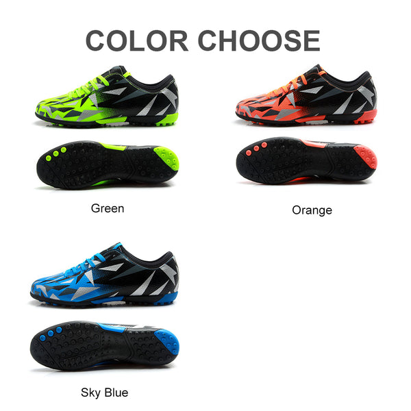 c1c66055e ... TIEBAO Soccer Shoes TF Turf Soles Breathable Outdoor Sneakers For Men  Football Training Boots ...